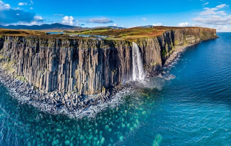 Kilt Rock waterfall - Isle of Skye - Scotland