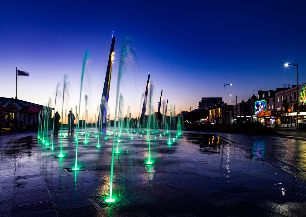 Water features are an attraction in Southend, Essex