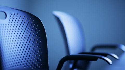 Modern office chairs detail